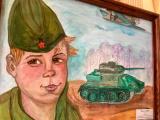 Участники студии изобразительного искусства «Диво» Энгельсского района присоединились к акции «Война. Победа. Память»