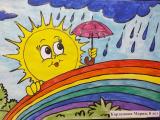 Онлайн выставка детских рисунков «Пусть всегда будет СОЛНЦЕ» набирает обороты