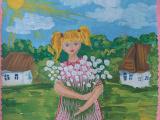 Онлайн выставка детских рисунков  «Пусть всегда будет СОЛНЦЕ» продолжается